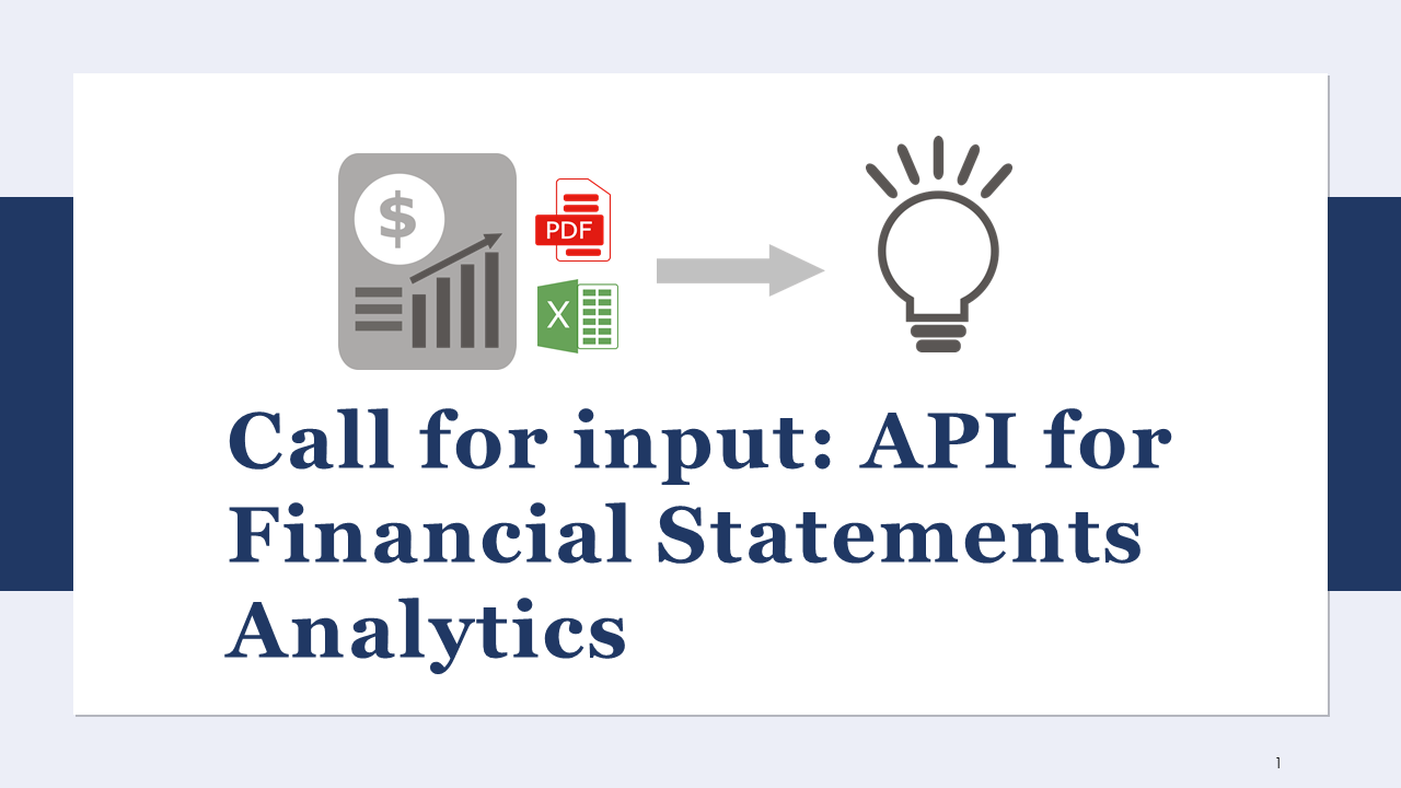 Call for input - API